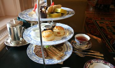 Afternoon Tea at the Inner Harbour, Victoria B.C.