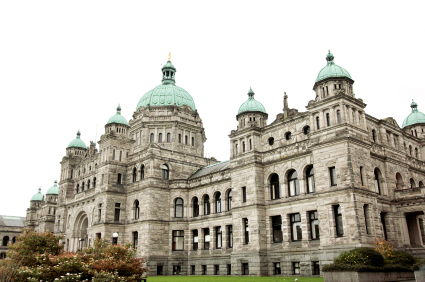 BC Legislature Buildings Victoria BC