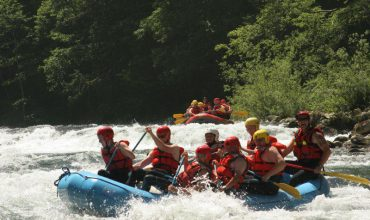 Thrilling Whitewater Rafting at Campbell River BC