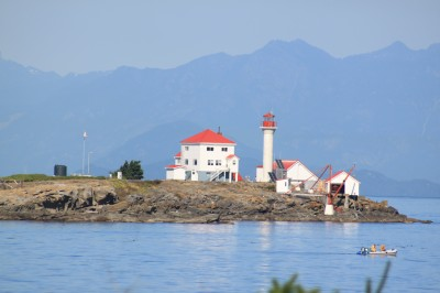 Entrance Island Lighthouse on Gabriola Island