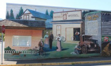a Mural in chemainus