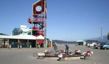 Enjoy a day of Leisure at the Harbor Quay in Port Alberni
