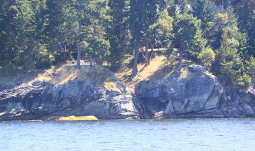 Cliffs on Gabriola Island