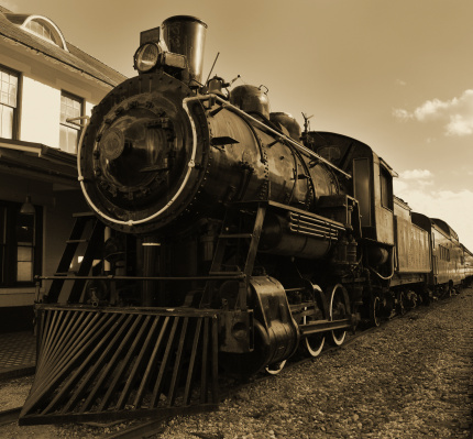 Come take a ride on the trains