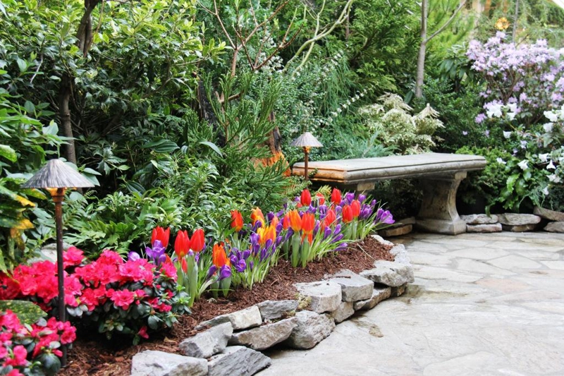 Victoria Events Butchart Gardens Spring Prelude
