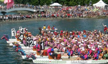Nanaimo Dragon Boat Festival, July 10th – 12th, Maffeo Sutton Park