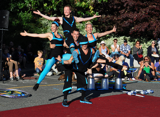 Victoria Events – International Buskers Festival 2015