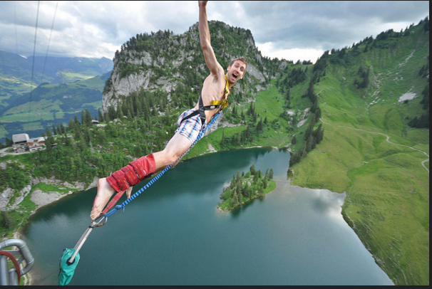 Annual Naked Bungy Jump for BCSS - Charity!