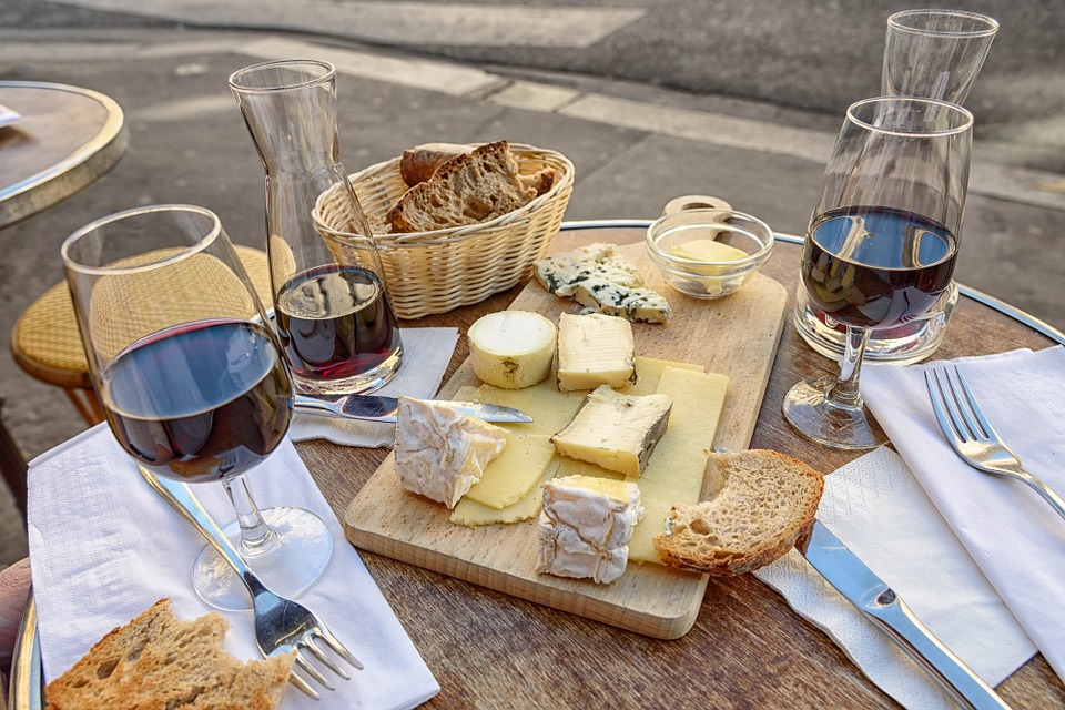 For the Love of Wine and Cheese