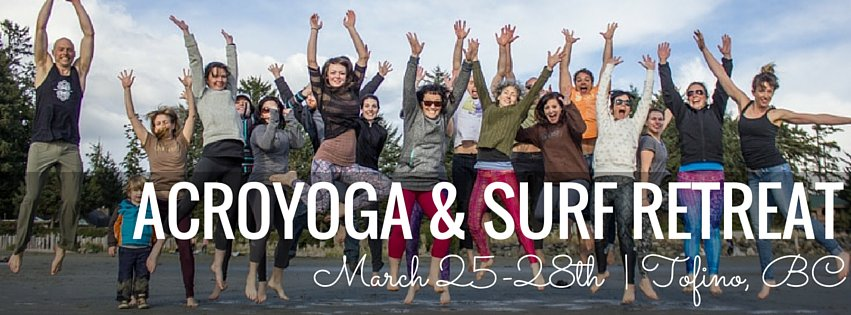 AcroYoga and Surf Retreat
