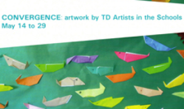CONVERGENCE: artwork by TD Artists in the Schools