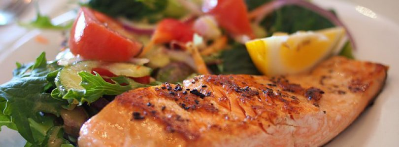 Tofino events, Feast Tofino concept. Plate of salmon