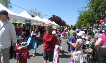 Victoria events, 15th annual Quadra Village Day concept