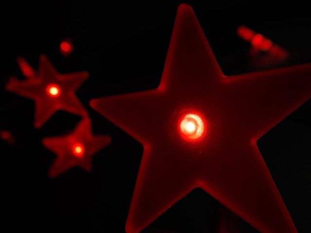 LED stars and lights