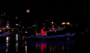 Victoria Winter Events-Sea of Lights - Lighted Ship Parade